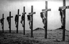 Indian Women Crucified by Catholics