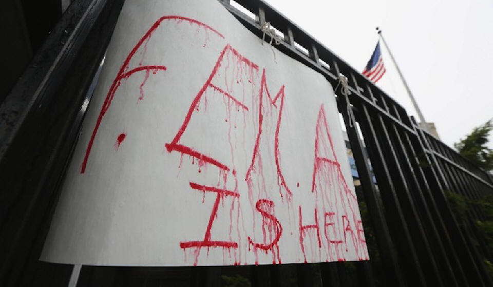 FEMA building camps to house millions - Ken Adachi